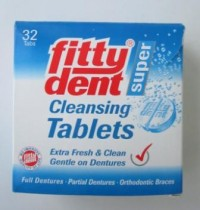 Fittydent super Cleansing tablets