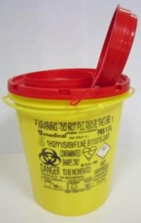 Контейнер за опасни отпадъци малък