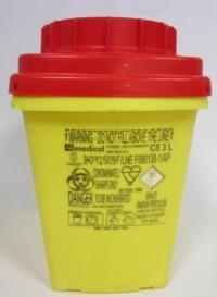Контейнер за опасни отпадъци среден