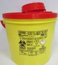 Контейнер за опасни отпадъци голям