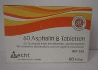 Asphalin B tablets